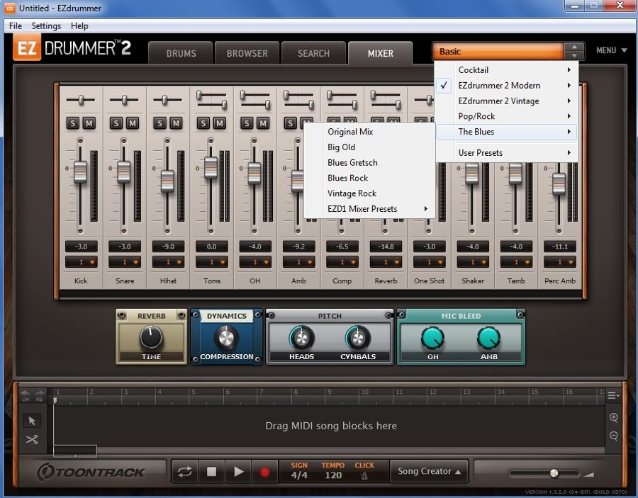 03_EZdrummer2_MixerTab