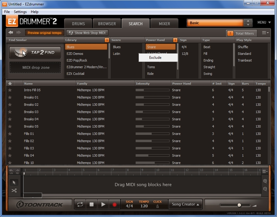 04_EZdrummer2_SearchTab