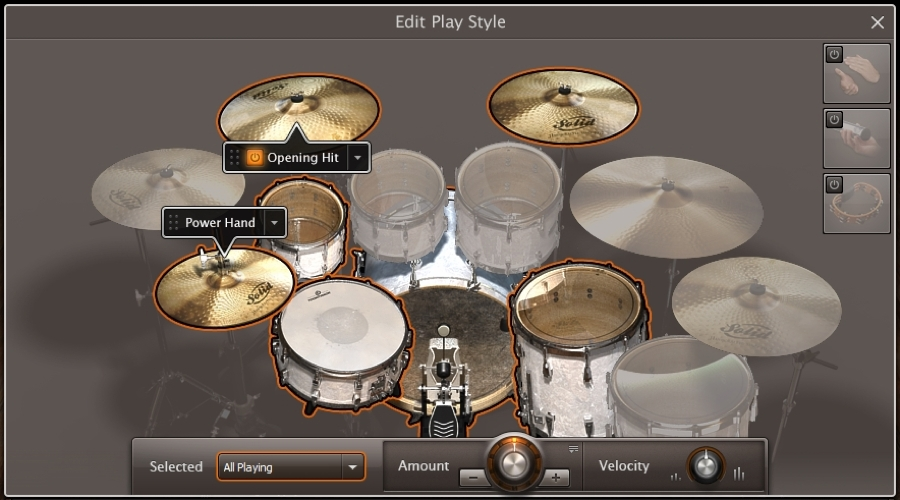 06_EZdrummer2_Edit_Play_Style