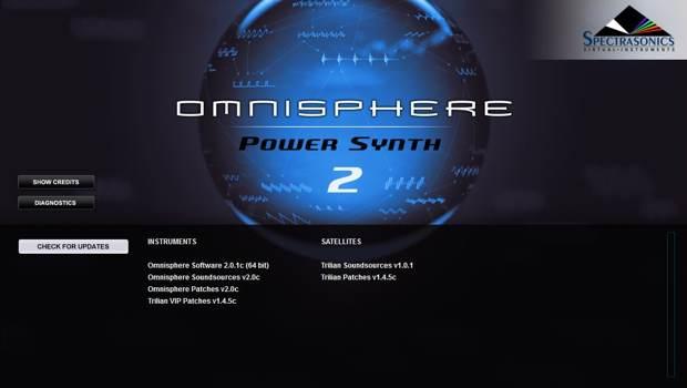 Recording: Spectrasonics Omnisphere 2