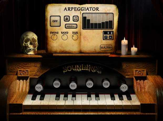 Recording Soundiron Traveler Organ