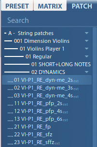 VSL Dimension Strings-12
