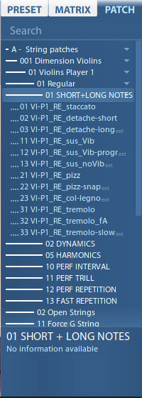 VSL Dimension Strings-2