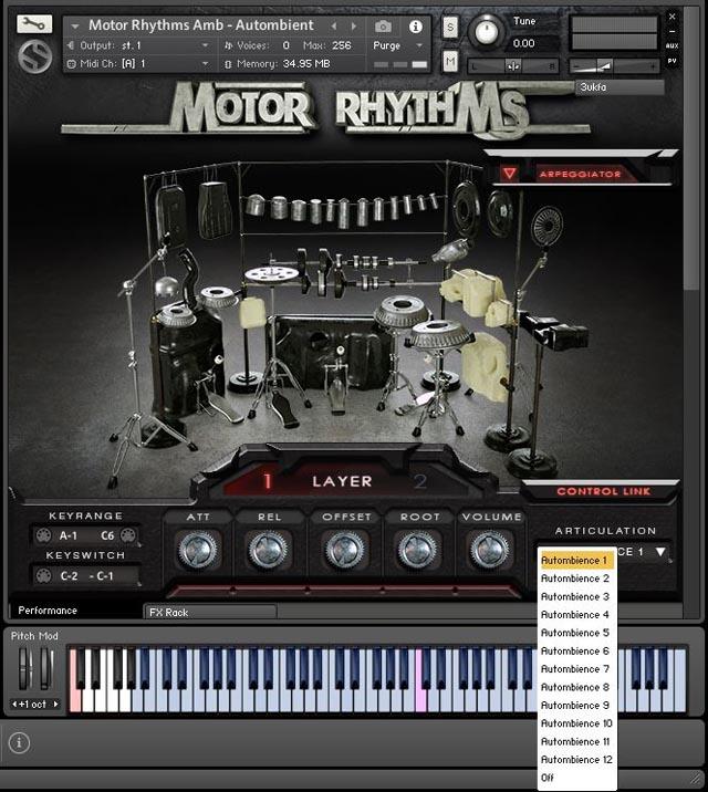 Motor Rhythms Bild 18